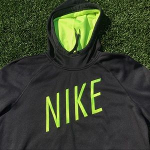 Nike Men's Funnel Neck Dri-Fit Hoodie Sz L
